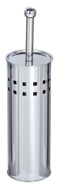 Ершик для унитаза напольный с перфорацией (Нерж.сталь) G-teq 20.45