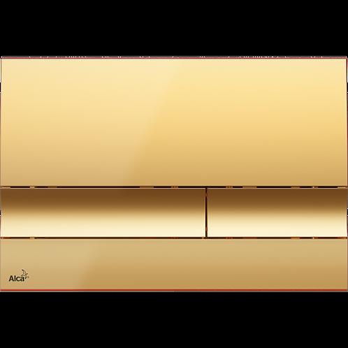 Кнопка управления (золотая) для скрытых систем инсталляции, Alcaplast M1725