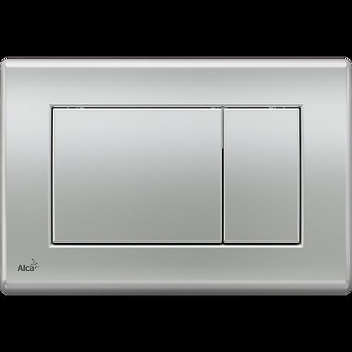 Кнопка управления (хром матовый) для скрытых систем инсталляции, Alcaplast M272