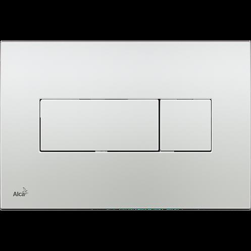 Кнопка управления (хром-глянец) для скрытых систем инсталляции, Alcaplast M371