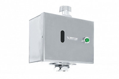 """Кран смывной сенсорный для унитаза (питание от батареи) 8490890 """"Варион"""""""