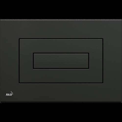 Кнопка управления (черная) для скрытых систем инсталляции, Alcaplast M478