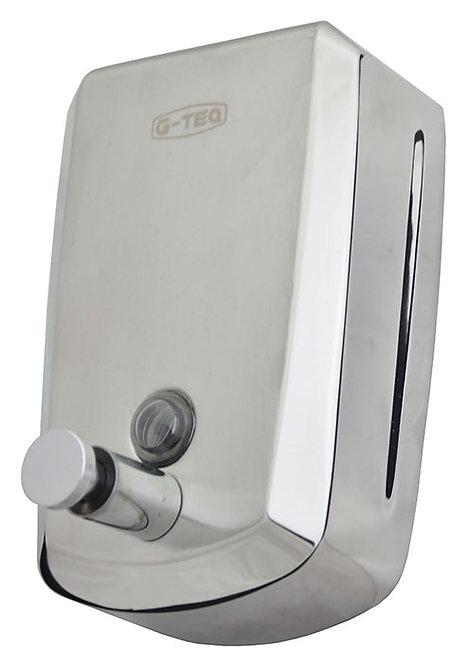 Дозатор для жидкого мыла 0,5 л. (Нержавеющая сталь) G-teq 8605 Lux