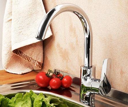 Lippe 4507 Смеситель для кухни с поворотным изливом WasserKRAFT
