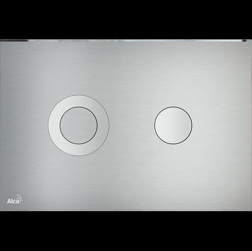 Кнопка управления (alunox-мат/глянец) для скрытых инсталляции, Alcaplast Turn