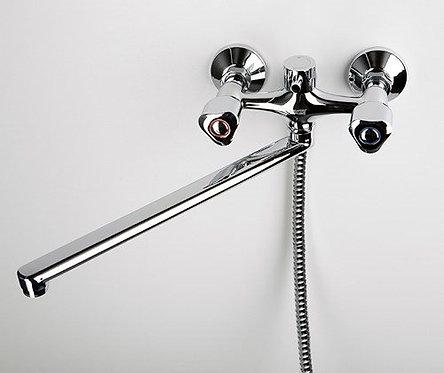 Amper 2902L Смеситель для ванны с длинным изливом WasserKRAFT