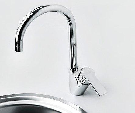 Ammer 3707 Смеситель для кухни с поворотным изливом WasserKRAFT