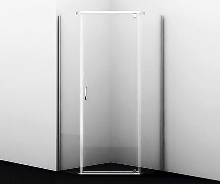 Leine 35P11 Душевой уголок, пятиугольный, с распашными дверьми 900x900x2000