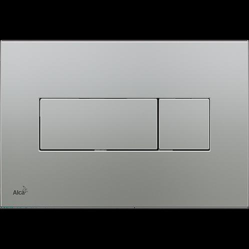 Кнопка управления (хром-матовый) для скрытых систем инсталляции, Alcaplast M372