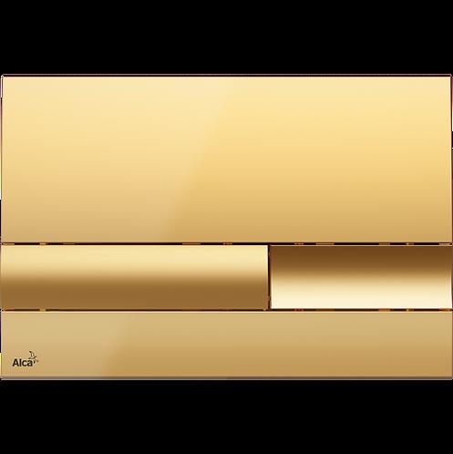 Кнопка управления (золотая) для скрытых систем инсталляции, Alcaplast M1745