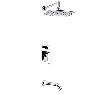 А13031 Встраиваемый компл. для ванны с изливом и верхней душ нас-кой WasserKRAFT