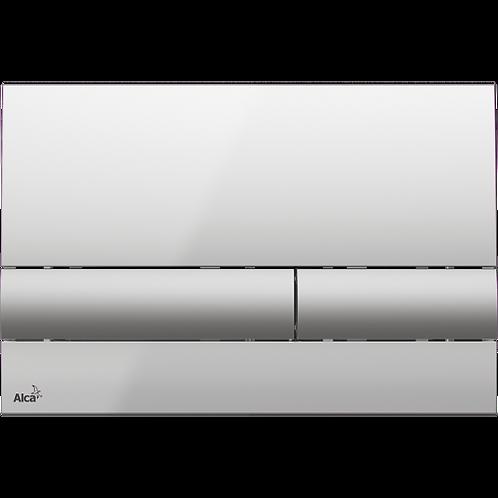 Кнопка управления (xром-глянец/мат) для систем инсталляции, Alcaplast M1713