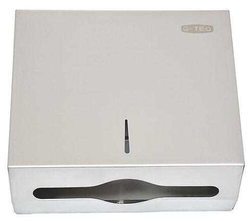 Диспенсер для бумажных полотенец (нержавеющая сталь) G-teq 8956