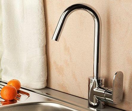 Donau 5347 Смеситель для кухни с поворотным изливом WasserKRAFT