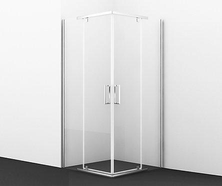 Leine 35P03  Душ. уголок, квадрат, с распаш. дверьми 900х900х1850 мм WasserKRAFT