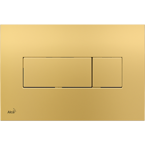 Кнопка управления (золотая) для скрытых систем инсталляции, Alcaplast M375