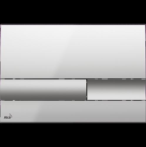 Кнопка управления (xром-глянец/мат) для систем инсталляции, Alcaplast M1743