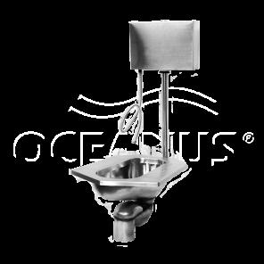"""Напольный унитаз """"Генуя"""" 4-003.1 Oceanus"""