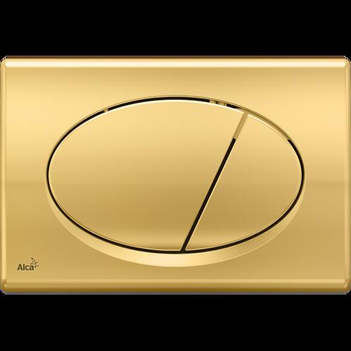 Кнопка управления (золотая) для скрытых систем инсталляции, Alcaplast M75