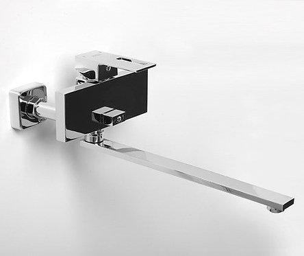 Alme 1502L Смеситель для ванны с длинным изливом WasserKRAFT