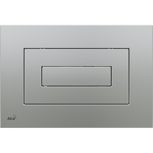 Кнопка управления (хром-матовый) для скрытых систем инсталляции, Alcaplast M472