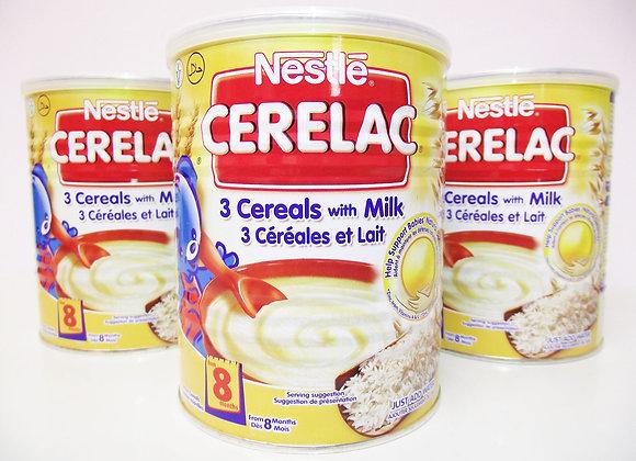 Nestlé Cerelac 3 Cereals with Milk