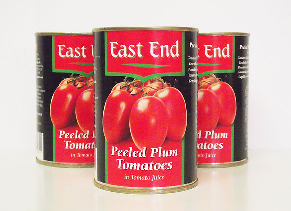 East End Peeled Plum Tomatoes (in Tomato Juice)
