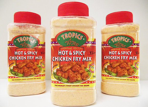 Tropics Hot & Spicy Chicken Fry Mix 750g