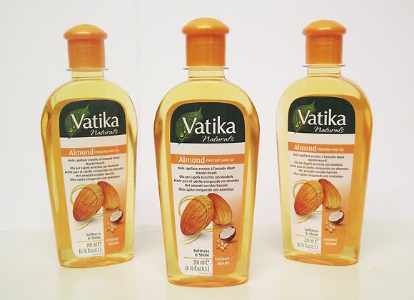 Vatika Almond Enriched Hair Oil