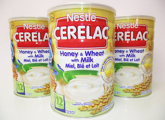 Nestlé Cerelac Honey & Wheat with Milk
