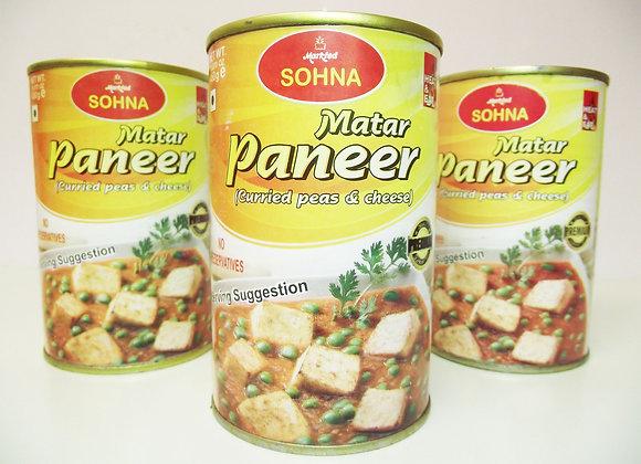 Sohna Matar Paneer (curried Peas and Cheese)