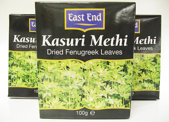 East End Dried Fenugreek Leaves (Kasuri Methi) 100g  Product Description: Methi