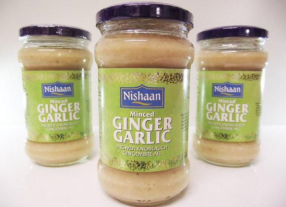 Nishaan Minced Garlic Ginger Paste