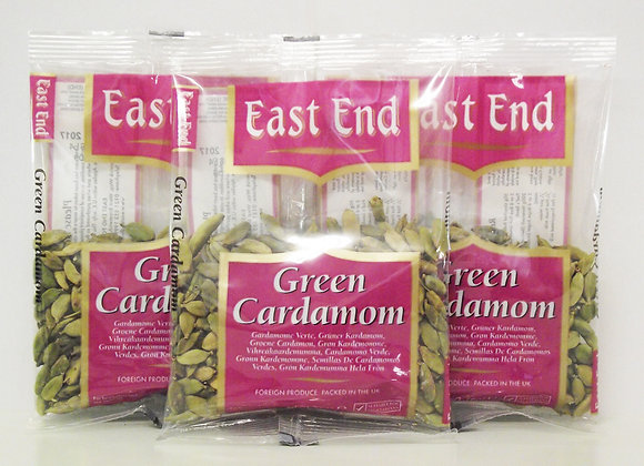 East End Green Cardamoms 50g