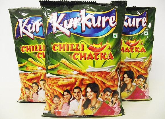Kurkure Chilli Chatka