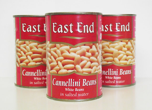 East End Cannellini Beans (White Beans in Salted Water)