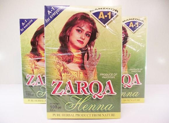 Zarqa Henna