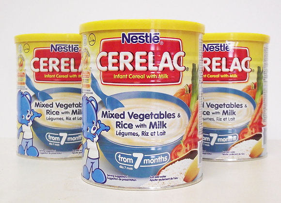 Nestlé Cerelac Mixed vegetables & Rice with Milk