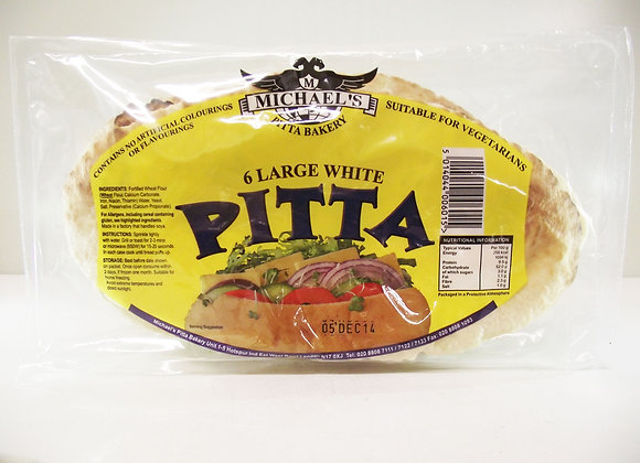 Michael's 6 White Pittas