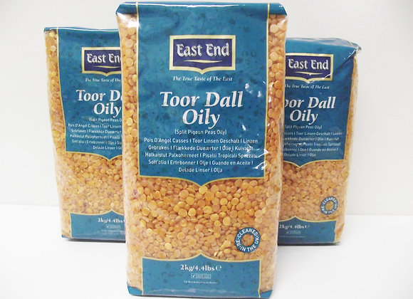 East End Toor Dall (Oily) 2kg