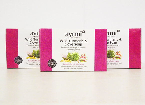 Ayumi Wild Turmeric & Clove Soap