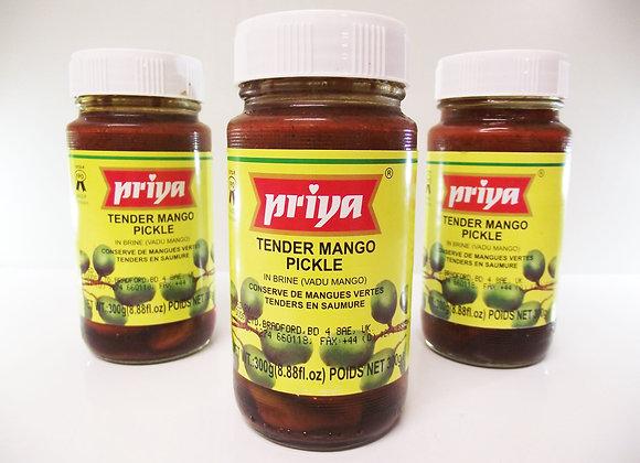 Priya Tender Mango Pickle (in Brine)