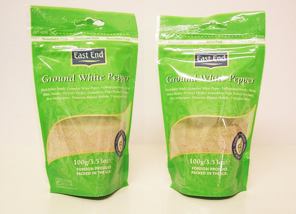 East End Ground White Pepper 100g