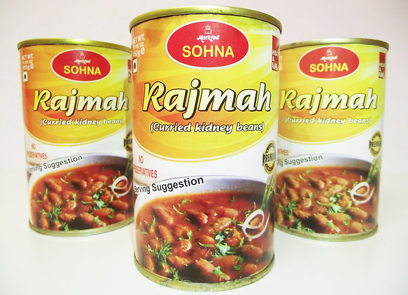 Sohna Rajmah (Curried Kidney Beans)