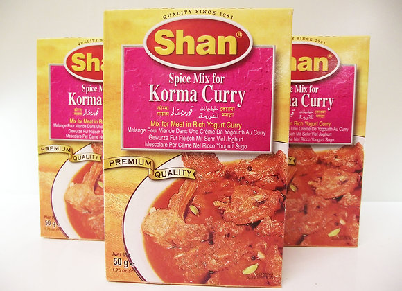 Shan Korma Curry