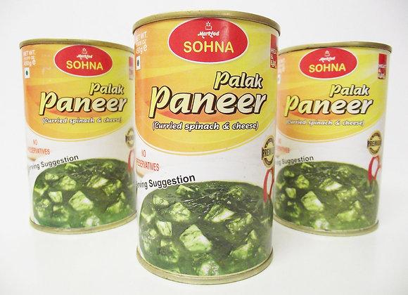 Sohna Palak Paneer