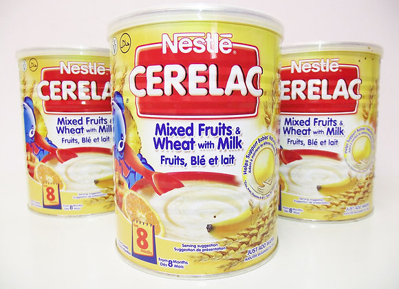 Nestlé Cerelac Mixed Fruits & Wheat with Milk