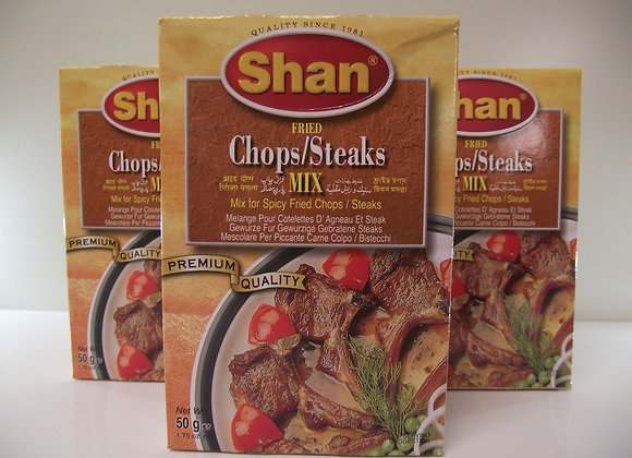Shan Fried Chops/Steaks