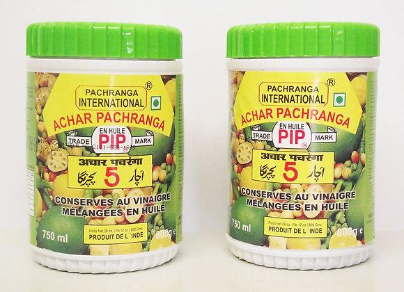 Pachranga Achar Pachranga (Mixed Pickle)