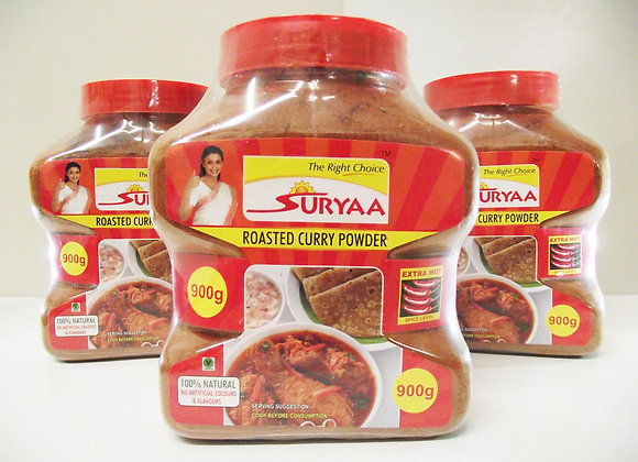 Suryaa Roasted Curry Powder (Extra Hot) 900g